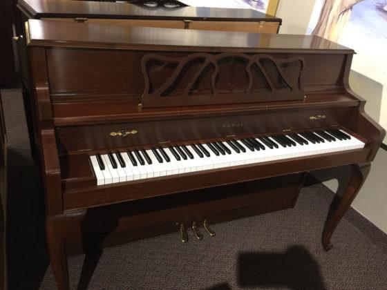 Used Kawai French Cherry Upright Piano