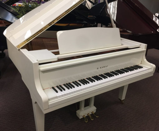 Used Kawai Ivory Polish Baby Grand Piano