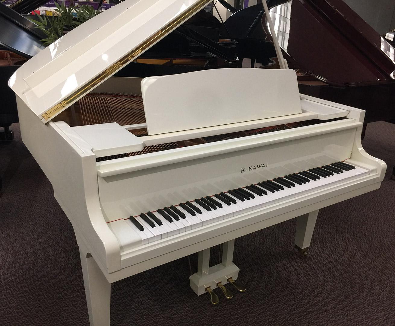 Used Kawai Ivory Polish Baby Grand Piano