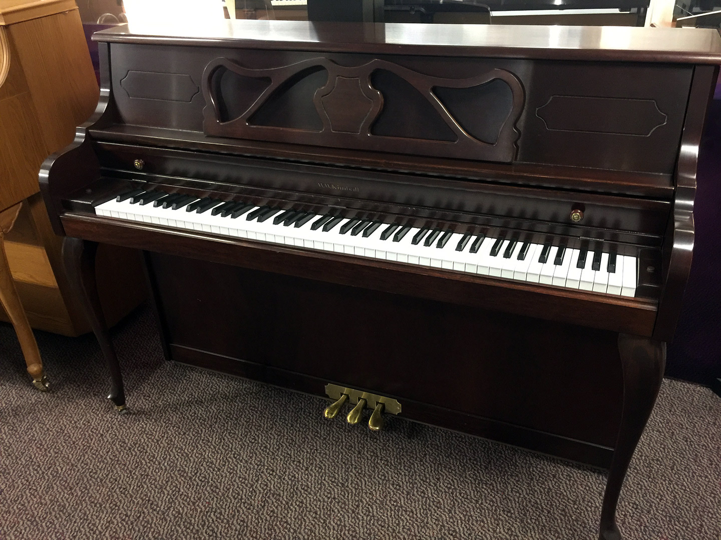 Used Kimball French Provincial Upright Piano Schmitt Music