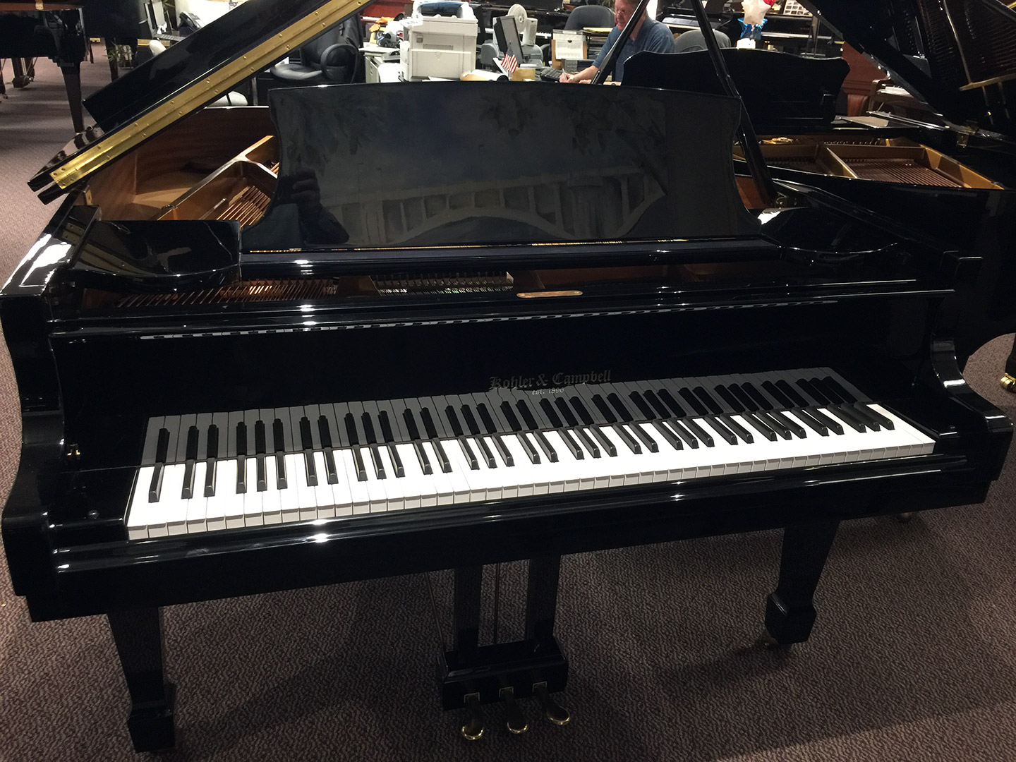 Used Kohler & Campbell Grand Piano