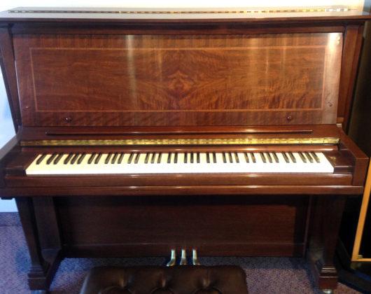 Used Steinway 1988 Mahogany Upright Piano