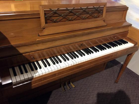 Used Wurlitzer Walnut Upright Piano