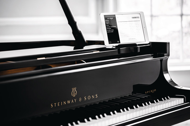 Steinway and Sons Spirio, player piano