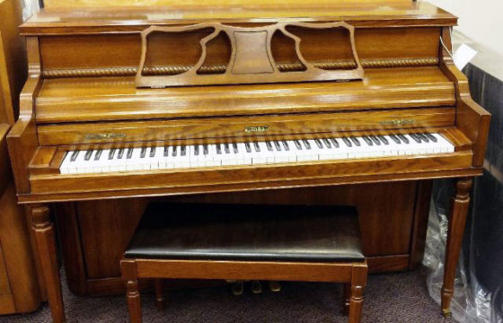 Used Kimball Fruitwood Console Piano