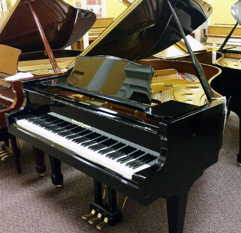 Used Kohler & Campbell Ebony Polish Grand Piano