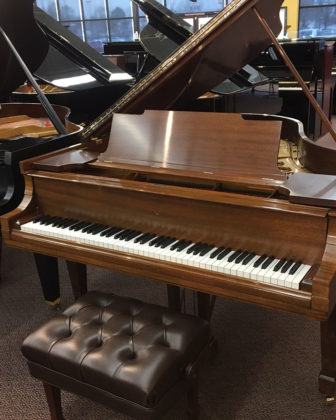 Rebuilt Steinway M 1917 Mahogany Grand Piano