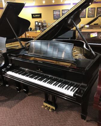 Used Steinway A 1881 Ebony Satin Grand Piano