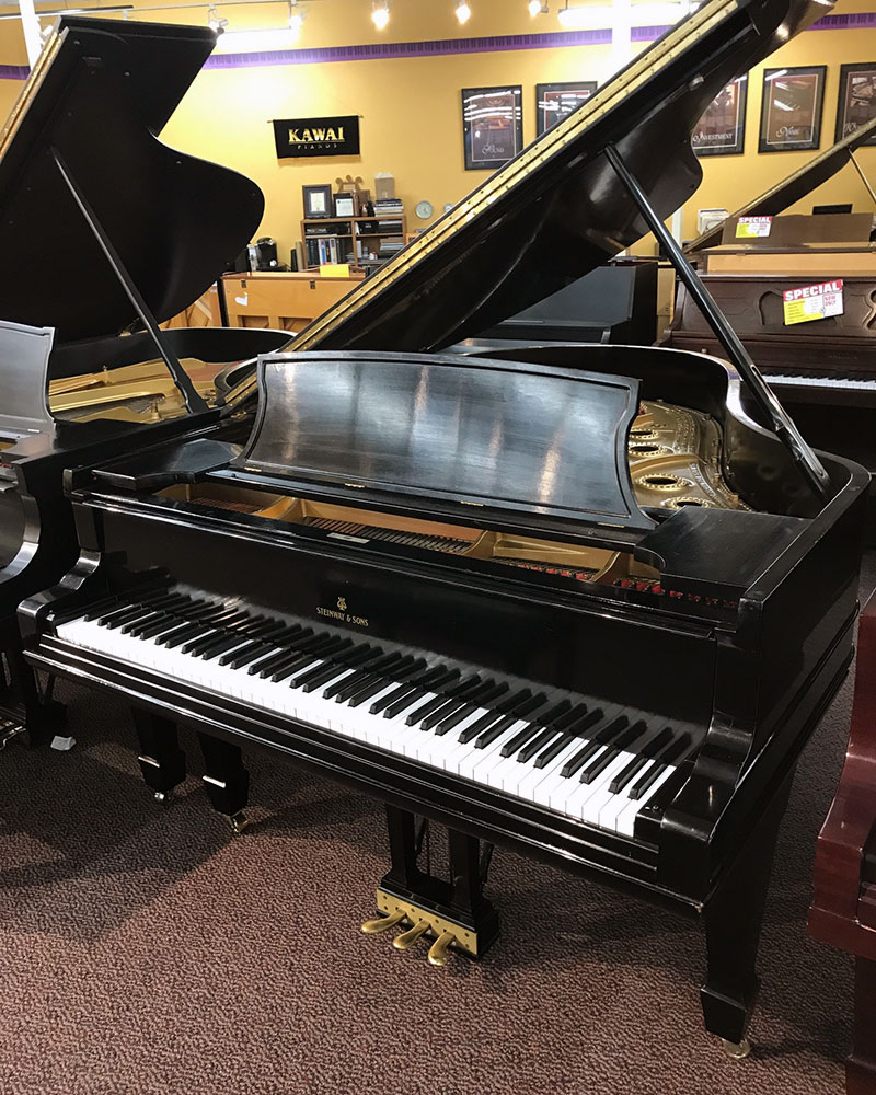 Used Steinway A 1881 Ebony Satin Grand Piano