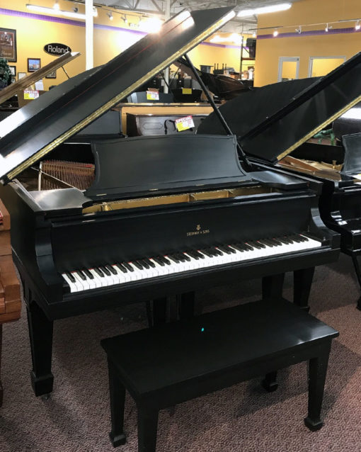 Used Steinway A 1912 Ebony Satin Grand Piano