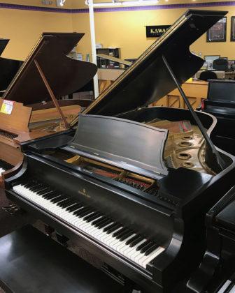 Used Steinway A 1912 Ebony Satin Grand Piano