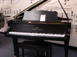 Used Young Chang G-150 1993 Ebony Satin Grand Piano at Schmitt Music Omaha