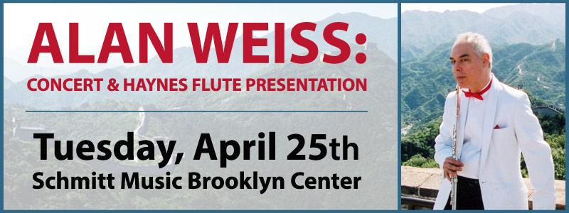 Alan Weiss: Concert & Haynes Flute Presentation