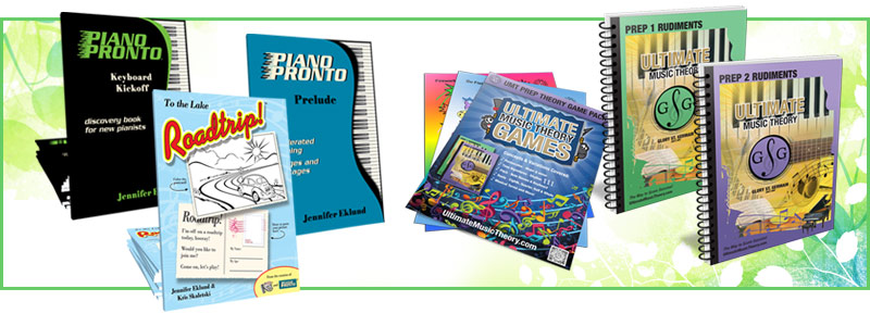 Piano Pronto, Ultimate Music Theory packs