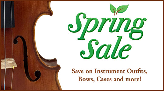 Spring Orchestra Strings Sale: Save on instruments, bows, cases and more