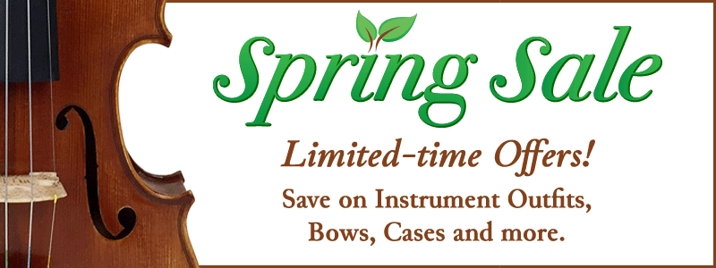 Orchestral Strings Spring Sale at Schmitt Music!