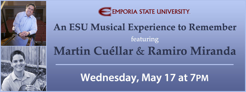 An ESU Musical Experience to Remember with Martin Cuéllar & Ramiro Miranda