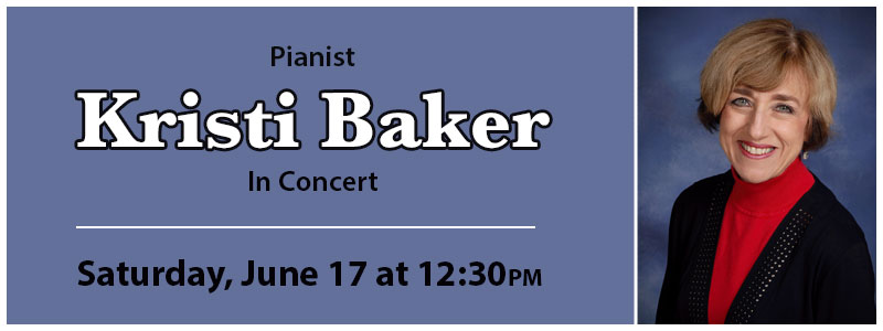 Pianist Kristi Baker in Concert at Schmitt Music Kansas City