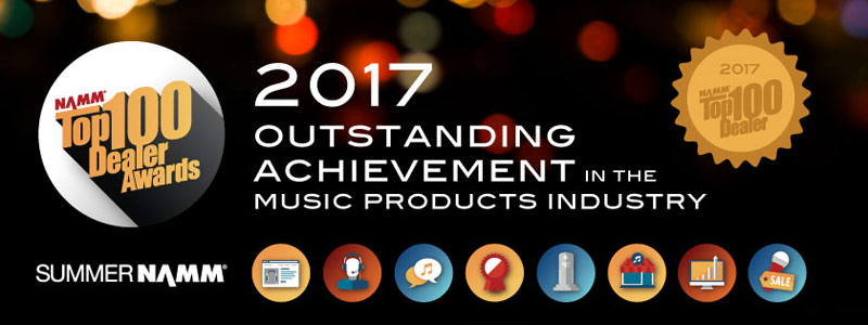 NAMM Announces Schmitt Music as a Top 100 Dealer!