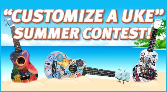 Customize A Uke Summer Contest