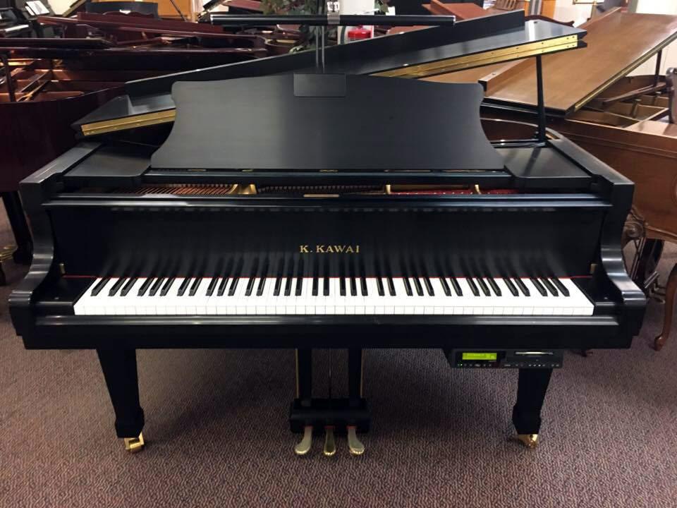 Used Kawai RX-2 Ebony Satin Grand Piano
