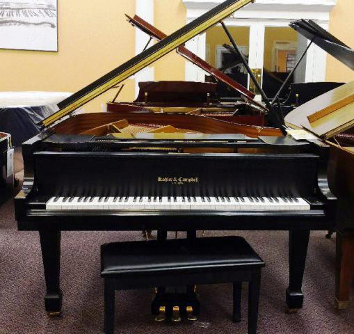 Used Kohler & Campbell 2000 Ebony Grand Piano
