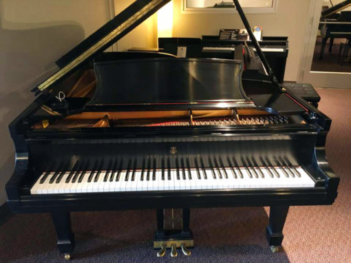 Used Steinway B Ebony Satin Grand Piano