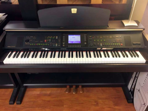 Used Yamaha Clavinova CLP-5306 Ebony Polish Digital Piano
