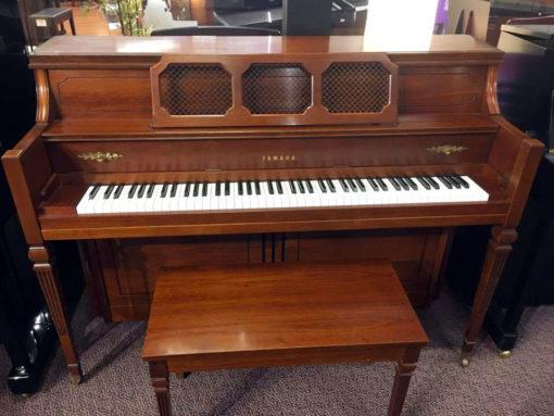 Used Yamaha M-404 Mahogany Upright Piano