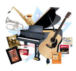 instruments, accessories, music, made in america