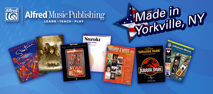 Alfred Music Publishing, Made in America