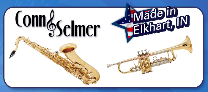 Conn-Selmer woodwinds and brass, Made in America