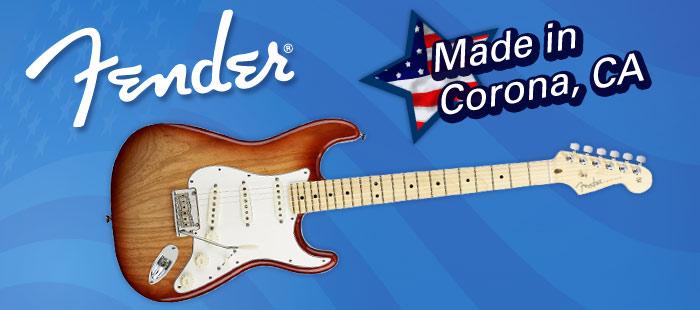 Fender guitars, Made in America