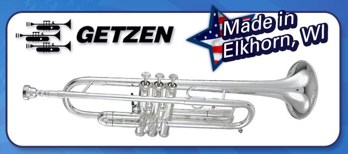 Getzen brass, Made in America