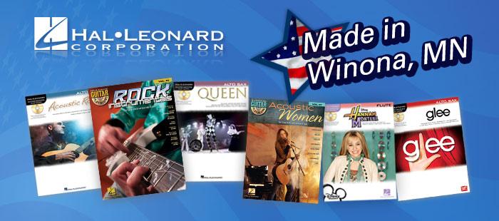 Hal Leonard Publishing, Made in America