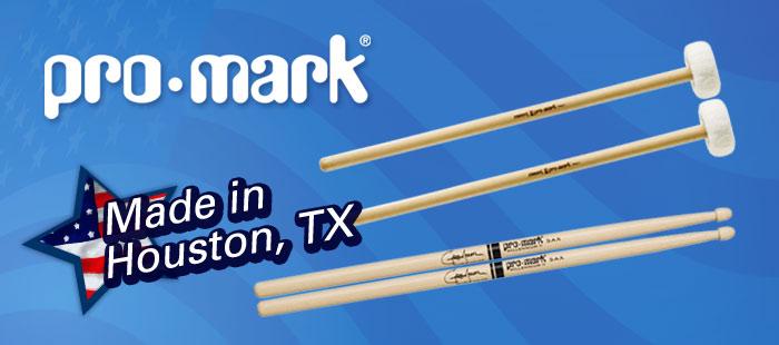 Promark percussion, Made in America
