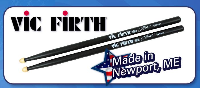 Vic Firth sticks, percussion mallets, Made in America