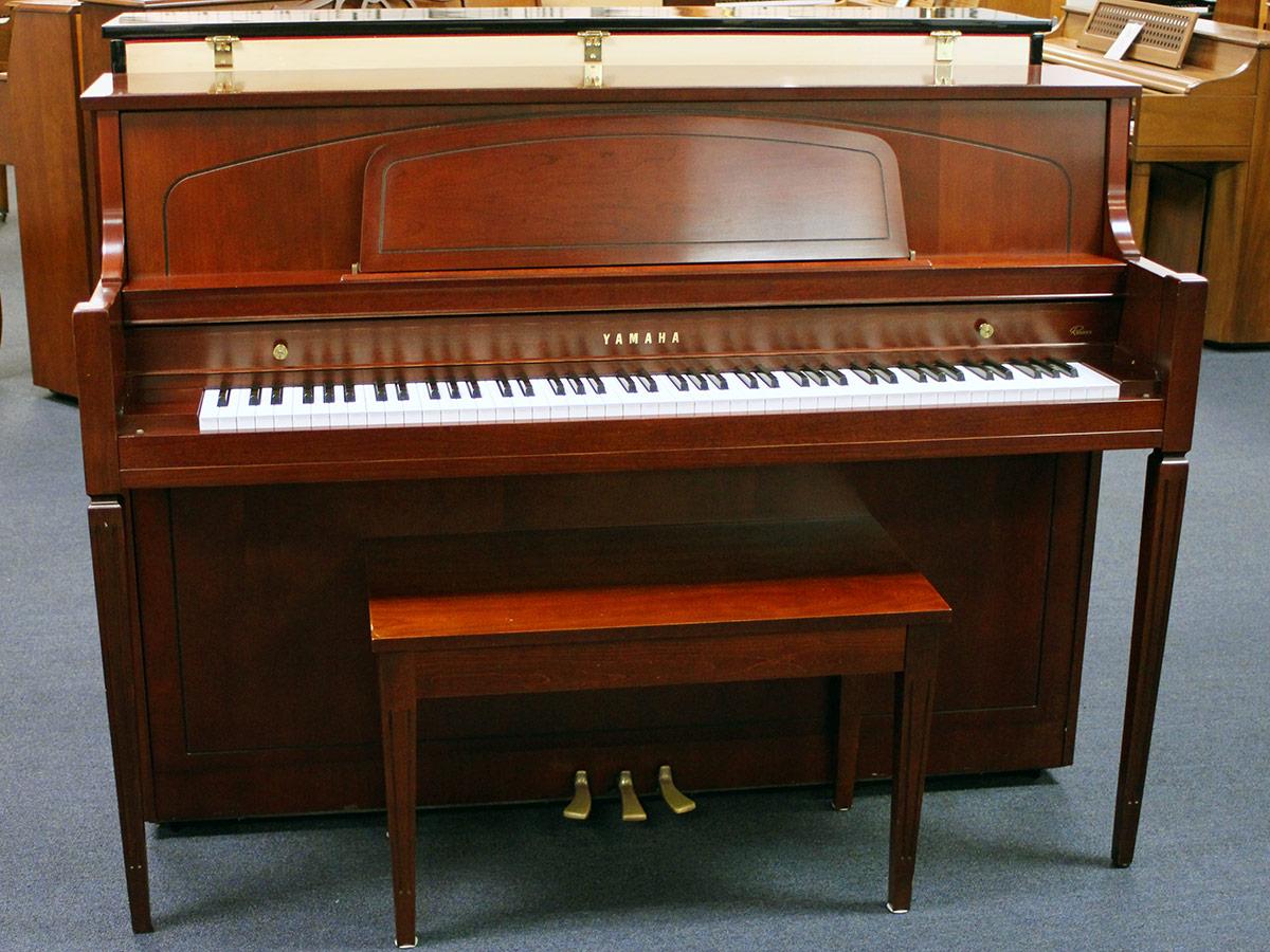 used yamaha m450 2002 console piano schmitt music