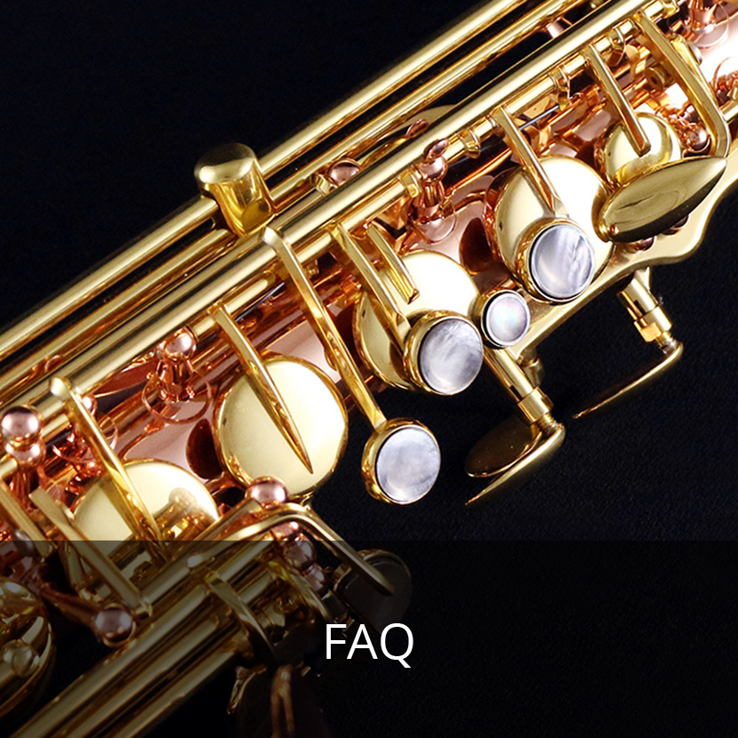 Frequently Asked Questions, The Sax Shop