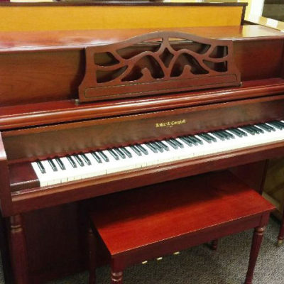 Used Kohler & Campbell Cherry Console Piano
