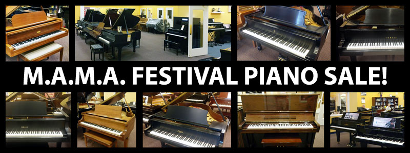 M.A.M.A. Festival Piano Sale at Schmitt Music Kansas City