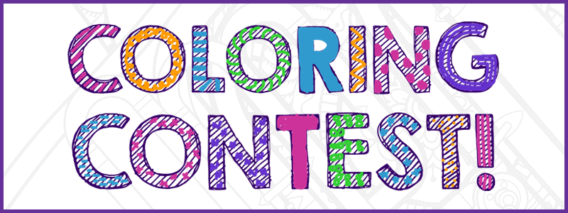 Family Fun Coloring Contest!