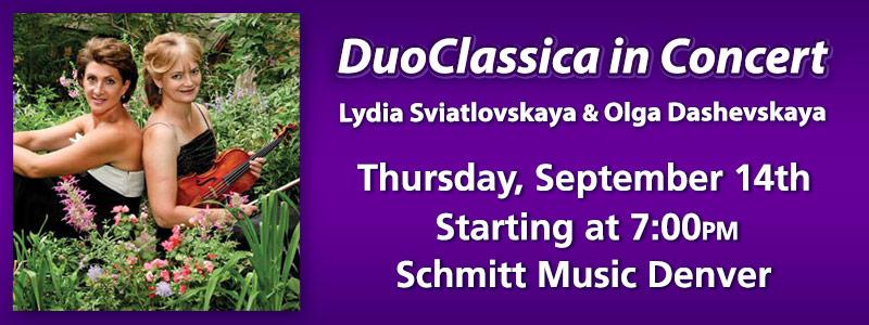 DuoClassica in Concert | Denver