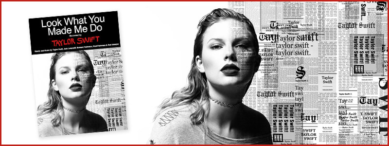 New Taylor Swift Single: Digital Sheet Music Available Now!