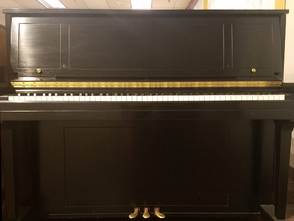 Used Steinway 1098-79 Upright Piano