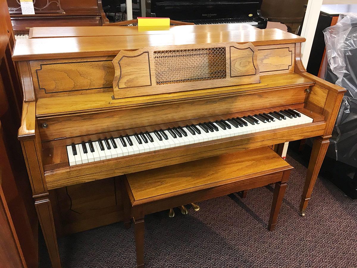 Used Everett 1981 Upright Piano