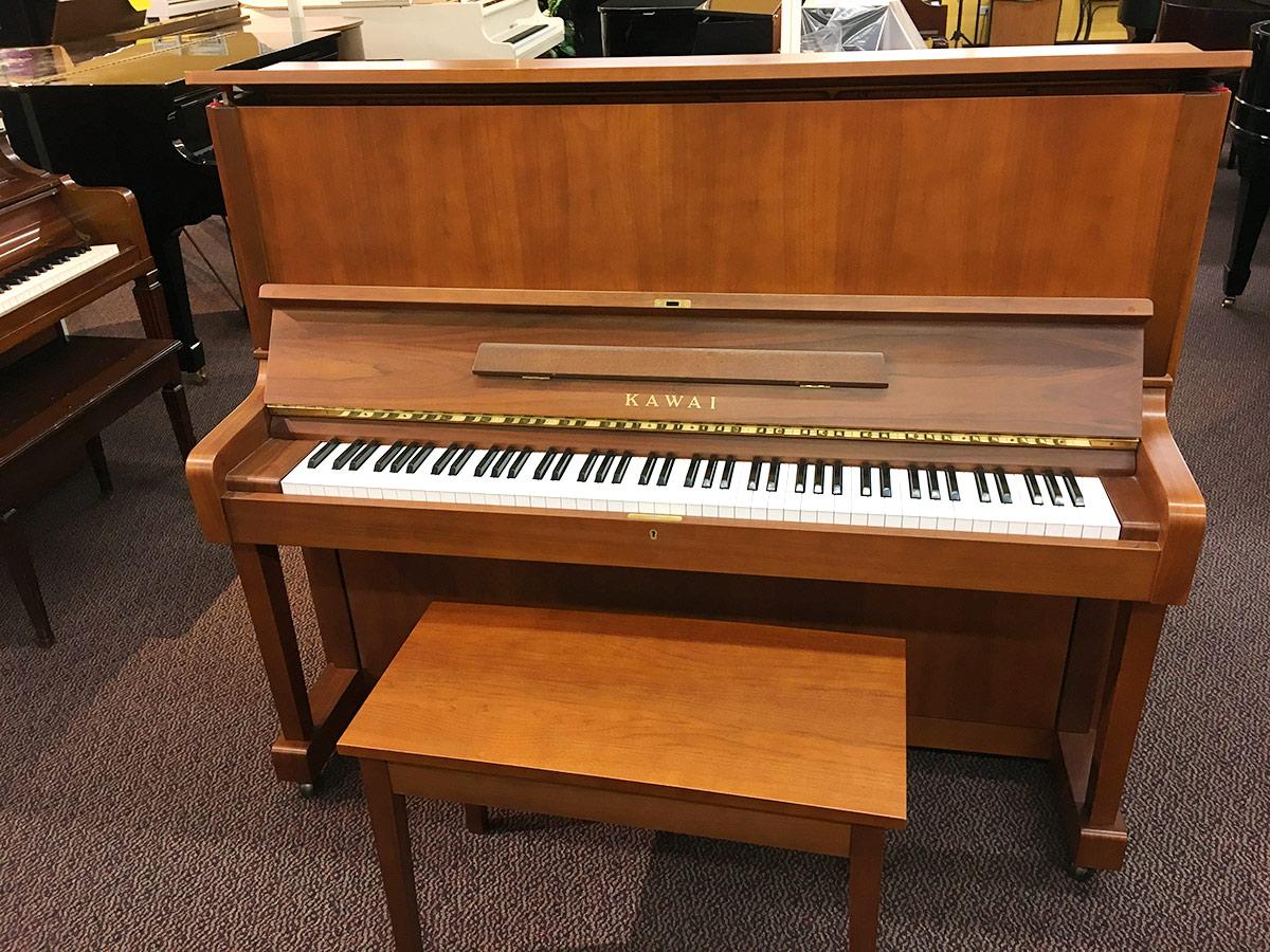 Used Kawai KL-502 1984 Upright Piano