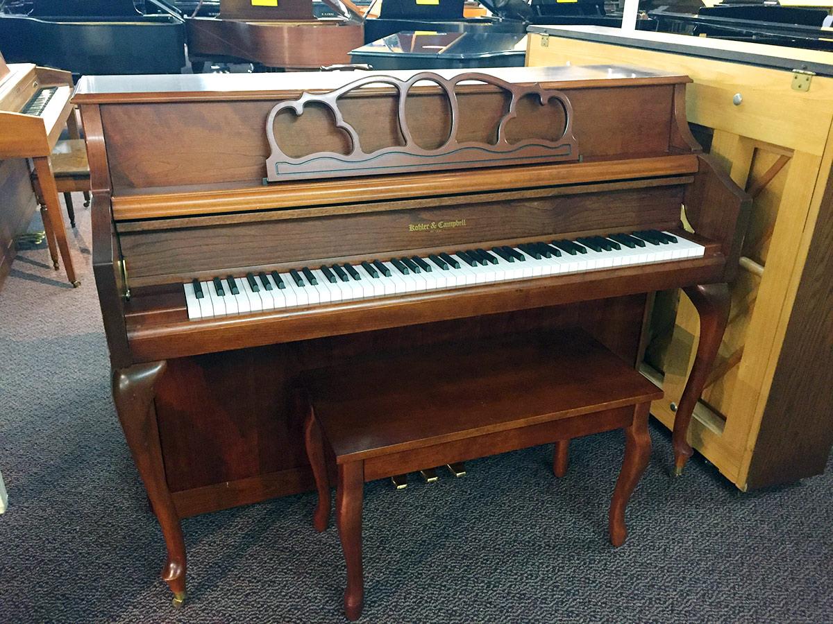Used Kohler & Campbell 043F 1999 Upright Piano | Schmitt Music