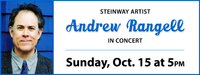 Steinway Artist Andrew Rangell in Concert at Schmitt Music Denver