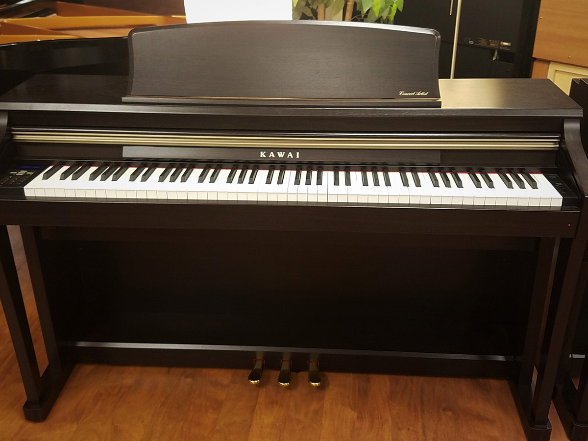 used kawai ca 63 rosewood digital piano schmitt music. Black Bedroom Furniture Sets. Home Design Ideas